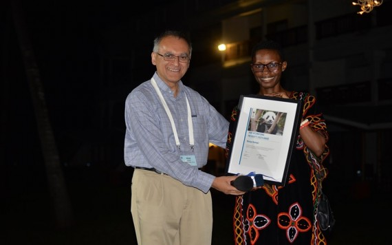 Cameroon's Monique Ntumngia Wins WWF International President's Youth award