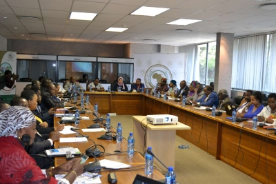 Pan-African Parliamentarians trained on climate information for development planning