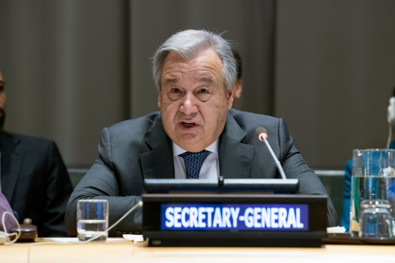 UN Secretary-General Earth Day message