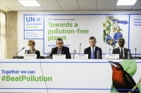 UNEA-3 Ends with Commitments to a pollution-free planet