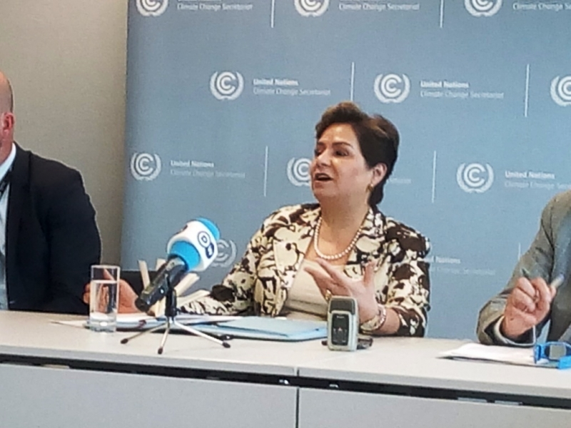 Bonn Climate Talks: UN Climate Chief up-beat about progress and the Talanoa Dialogue approach to Climate Negotiations