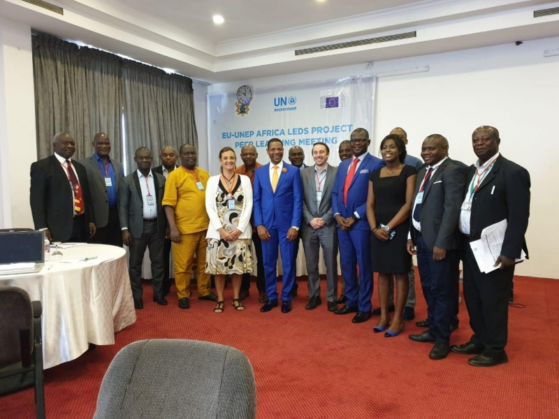 EU-UNEP Africa LEDS Project sets pace for climate action on the continent
