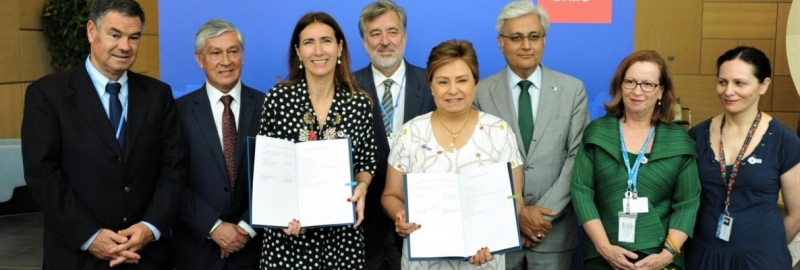 Chile and the UN officially Sign Host Country Agreement for COP25
