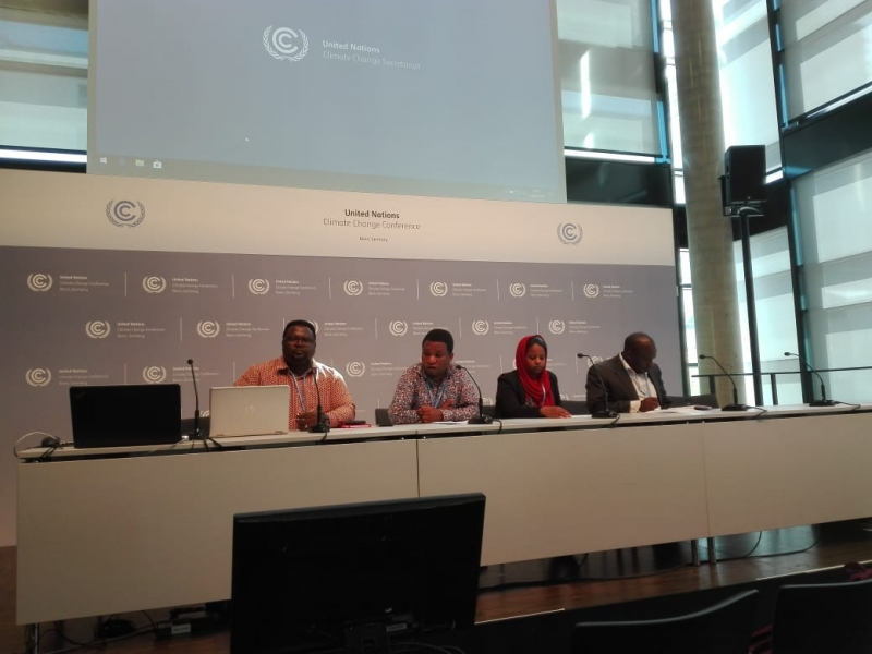African Civil Society lays bare its expectations on key thematic areas at the Bonn Mid-Session Climate Talks